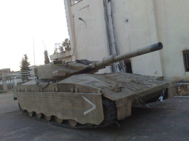 tank-maket